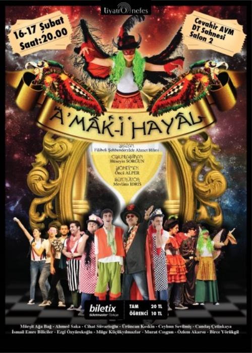 'AMAK- ıHayal' Cevahir Devlet Tiyatrosu Sahnesi'nde