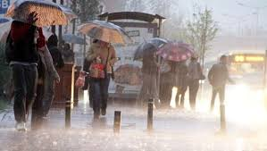 Meteorolojiden sağanak yağış uyarısı ! Sağanağın Yoğun Olacağı Şehirler ?