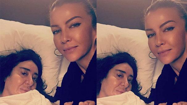 İvana Sert, Nur Yerlitaş'ı ziyaret etti!