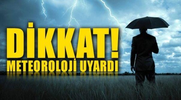 Meteoroloji'den yapılan açıklamada ! İstanbul'da akşam saatlerinde yağış var !