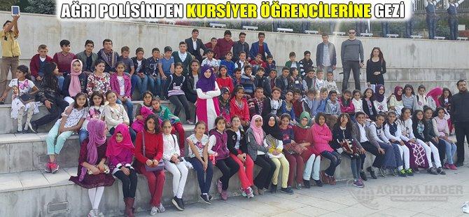 Ağrı Polisinden Kursiyer Öğrencilerine Gezi