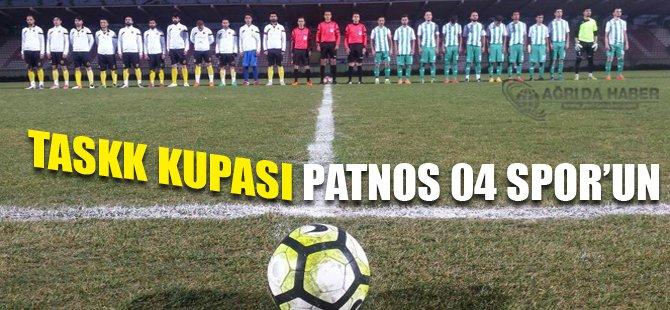 Taskk Kupasının Sahibi Patnos 04 Spor Oldu'