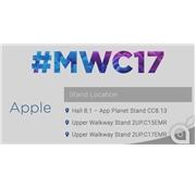 Apple Barcelona MWC 2017'de yerini ayırttı !