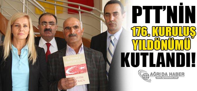 PTT'nin 176. Kuruluş Yıldönümü Kutlandı