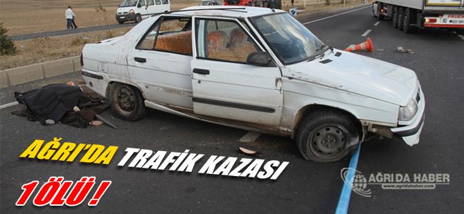 Ağrı Doğubayazıt Trafik Kazası: 1 Ölü, 1 Yaralı