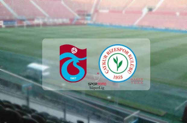 Trabzonspor-Çaykur Rizespor maçı saat kaçta? hangi kanalda ?