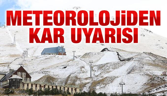 Doğu Anadolu'ya Kar ve Yağmur geliyor