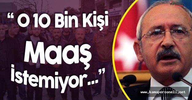 Kılıçdaroğlu:' PKK Vergi Dairesi Kurdu, Askerlik Şubesi Kurdu'