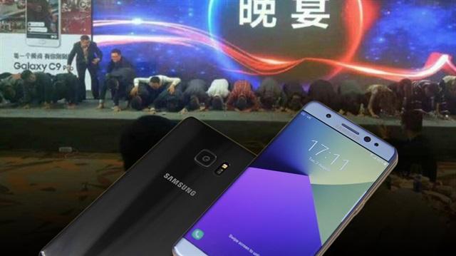 Samsung'un Çinli yöneticileri diz çökerek özür diledi ! S8 Süprizide Verildi ?