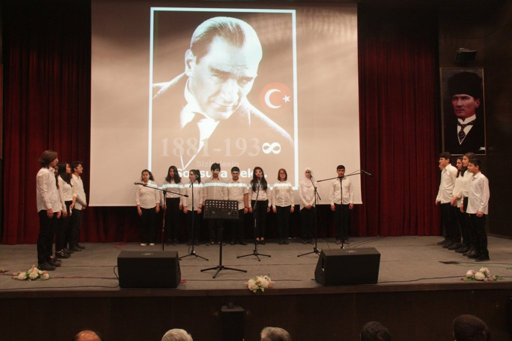 10 Kasım Büyük Önder Atatürk'ü anma