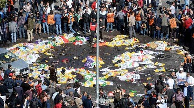 10 Ekim 2015'te gerçekleşen Ankara Garı önündeki patlamayla ilgili karar