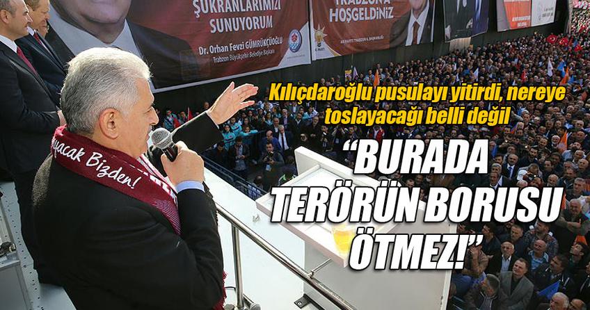 Başbakan Binali Yıldırım, Trabzon'da sert açıklamalar yaptı ?