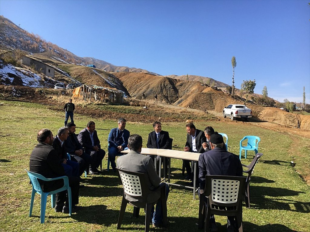 Mutki Kaymakamı Mehmet Kılıç'tan Köy Ziyaretleri