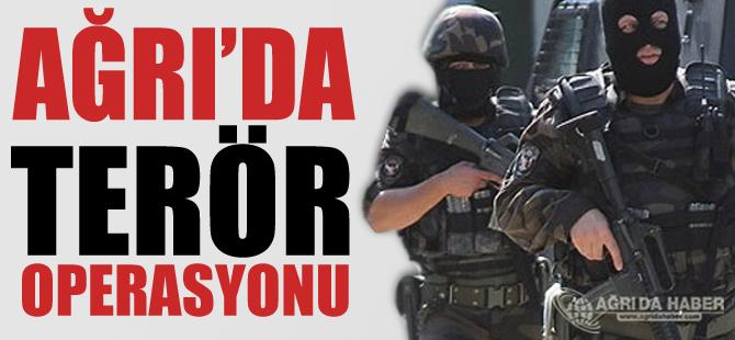 Ağrı'da Terör Operasyonu 2 Tutuklama