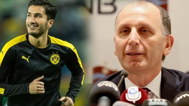 Trabzonspor Nuri Şahin'i aramızda bile konuşmadık !