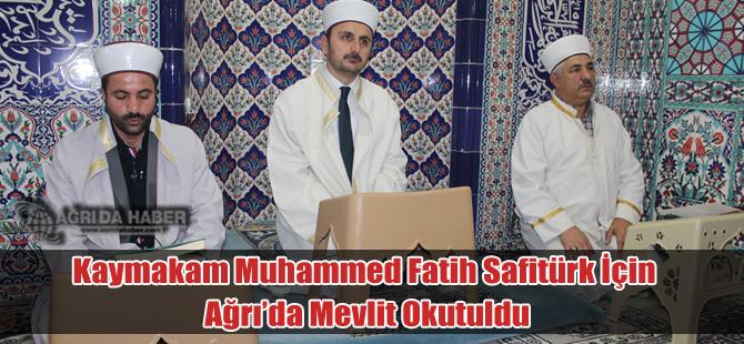 Ağrı'da Şehit Kaymakam Muhammed Fatih Safitürk Mevlit Okutuldu