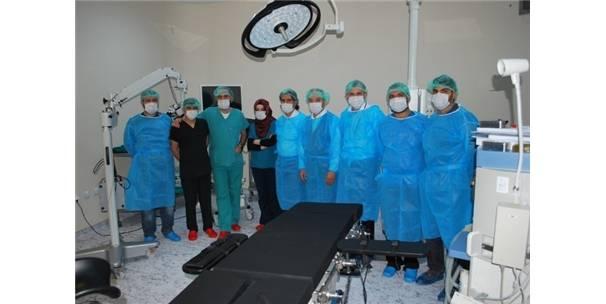 Özalp Devlet Hastanesinde İlk Ameliyat Yapıldı