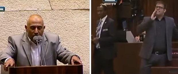 İsrail meclisi Ezan ile yankılandı ! Talib Ebu Arar da İsrail Parlamentosu'nda kürsüden Ezan okudu