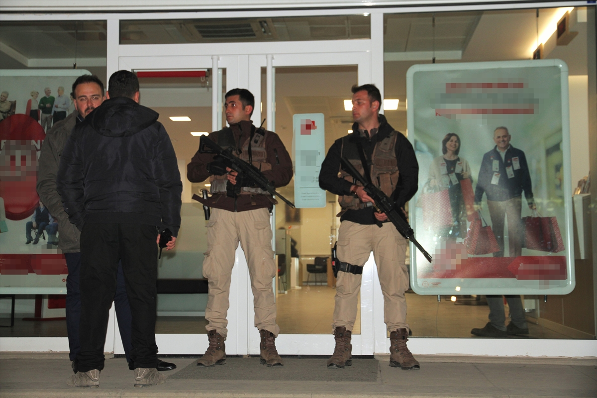 Muş'taki Banka Soygunu yapan şahıs tutuklandı