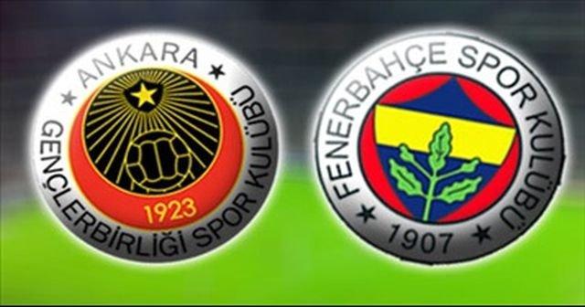 Fenerbahçe ile Gençlerbirliği arasında oynanacak karşılasmanın Ayrıntıları ?