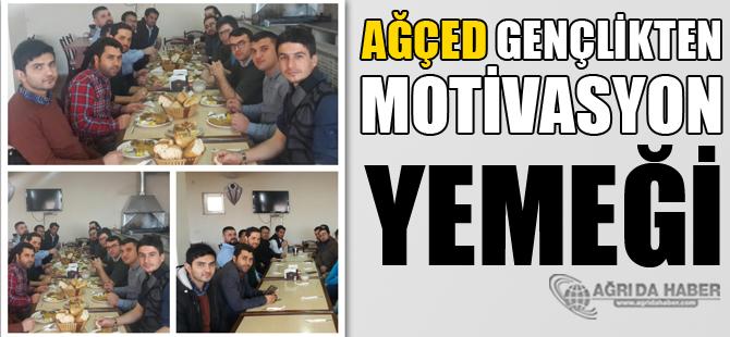 AĞÇED üyelerine Motivasyon Yemeği