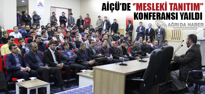 A.İ.Ç.Ü İslami İlimler Fakültesinde 'MESLEKİ TANITIM' Semineri Verildi