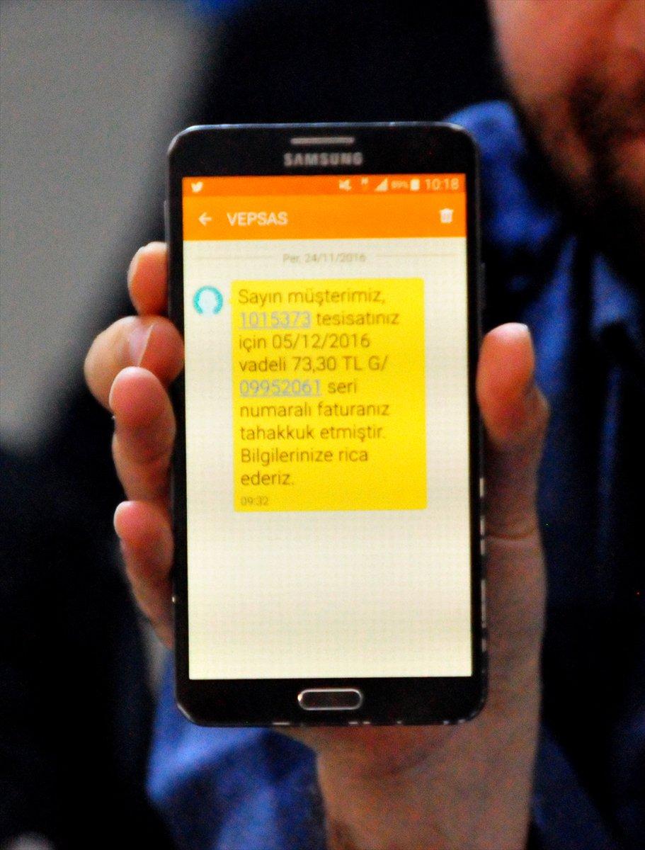Vatandaşlar Elektrik faturalarını kısa mesajla öğrenebilecek