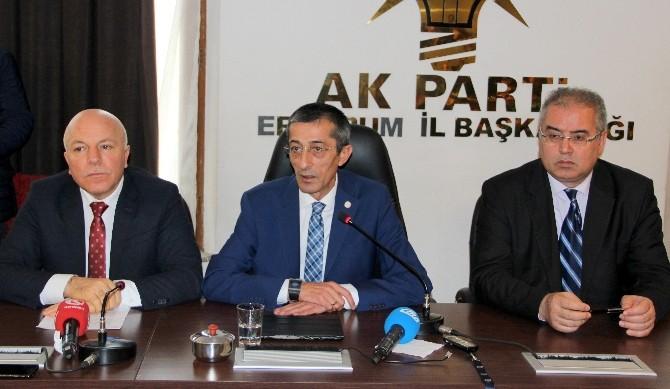 Ak Parti Erzurum İl Teşkilatından istifa kararı