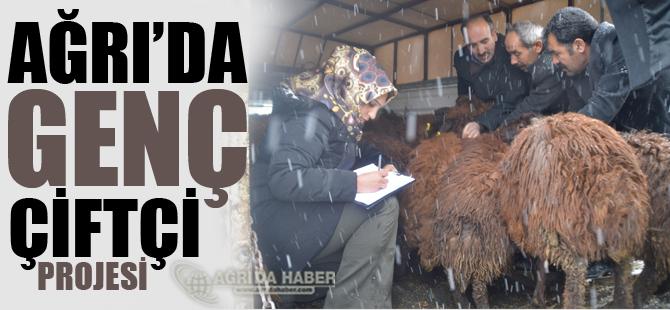 Ağrı'da 'Genç Çiftçi' Projesi