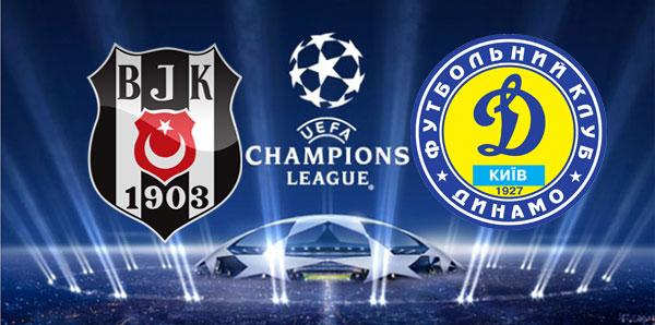 Şampiyonlar Ligi, Beşiktaş Dinamo Kiev Maçı Saat Kaçta Hangi Kanalda ?
