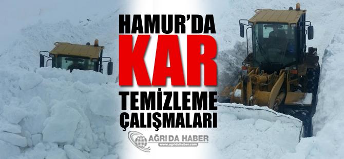 Hamur'da 90 Köyde Kar Temizleme Çalışmaları Yürütülüyor!