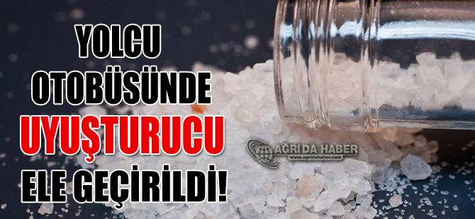 Ağrı'dan İstanbul'a Giden Yolcu Otobüsünde Uyuşturu ele Geçirildi