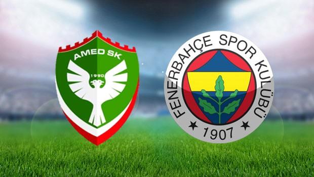Fenerbahçe - Amed sportif maçı saat kaçta? hangi kanalda?