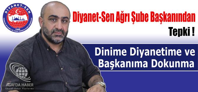 Yasin Çınar: Dinime Diyanetime ve Başkanıma Dokunma