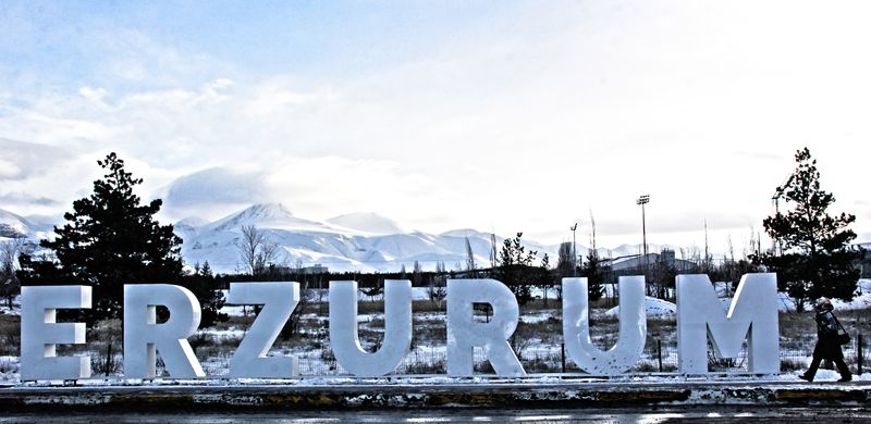 Erzurum'da Kar Ödeneği