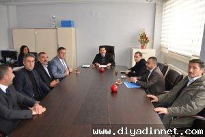 Arslan Ve Komutanlardan Vali Yavuz'a Ziyaret