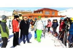 Vali Toprak'tan, Kayakçılara Ziyaret