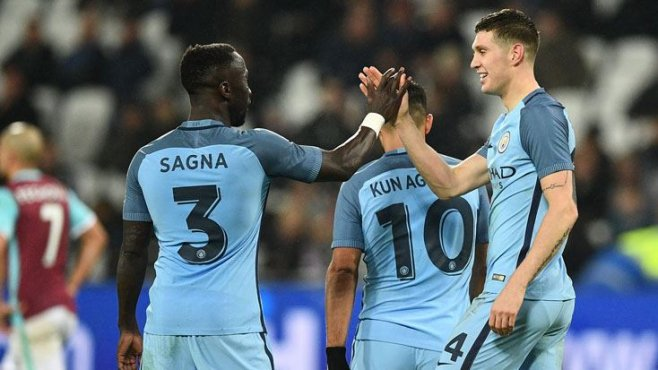 İngiltere FA Cupta Manchester City West Ham Unitedı 5 farkla bitirdi !