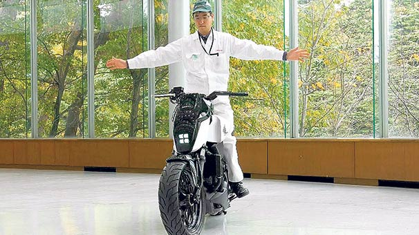 Japon otomotiv üreticisi Honda evcil motorsiklet üretti ?