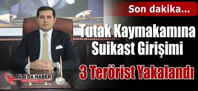 Tutak Kaymakamına Suikast Hazırlığı Yapan 3 Terörist Yakalandı
