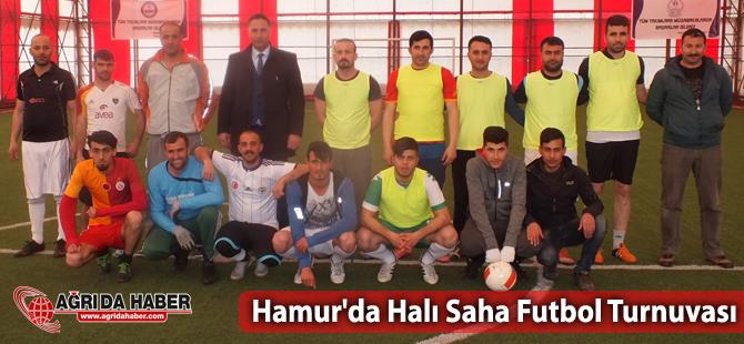Hamur'da 14 Nisan Kurtuluş Halı Saha Futbol Turnuvası