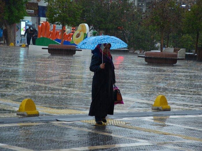 Meteorolojiden Malatya ve çevresi için sağanak uyarısı