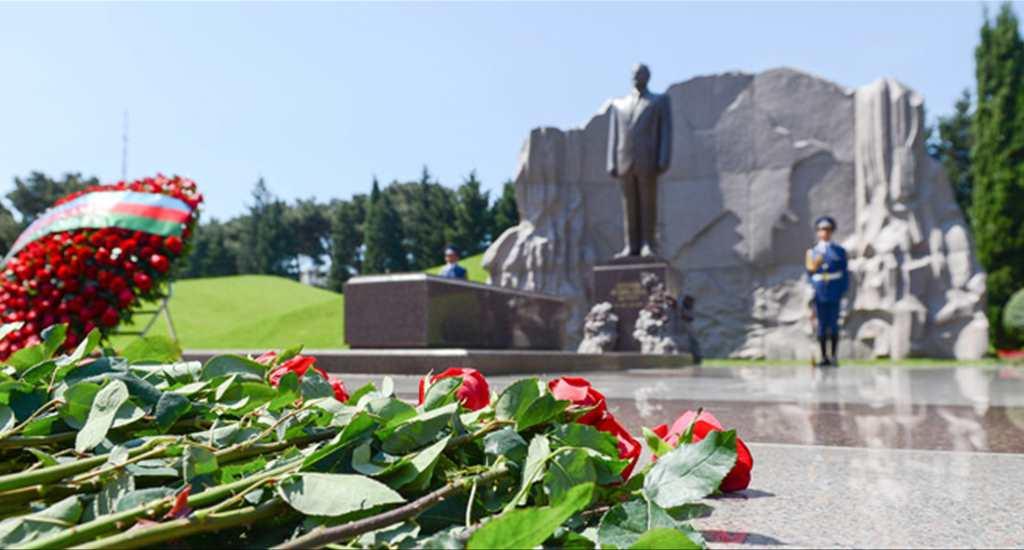 Haydar Aliyev'in 94. doğum yıl dönümü anma etkinliği