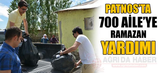 Patnos'ta 700 Aileye Ramazan Yardımı