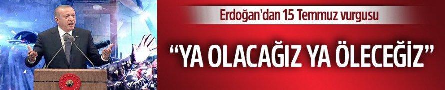 Cumhurbaşkanı Recep Tayyip Erdoğan, Demokrasi Nöbetleri Her yıl devam edecek