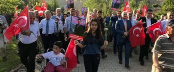 Tunceli'de 'Teröre Lanet Yürüyüşü' Düzenlendi
