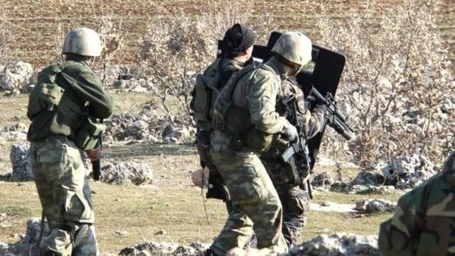 Tunceli'de Terör Operasyonu