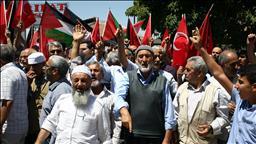 İsrail'in Mescid-i Aksa'ya Yönelik İhlallerine Tepkiler