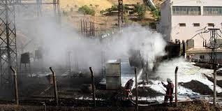 Elazığ'da Patlayan Trafo Yangına Neden Oldu