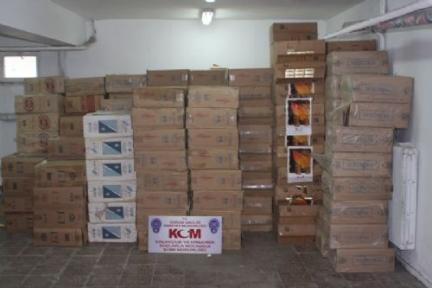 Gürpınar'da Kaçak Sigara Operasyonu Düzenlendi